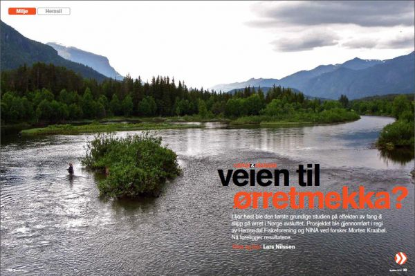 Artikkel i Fluefiskemagasinet 2012